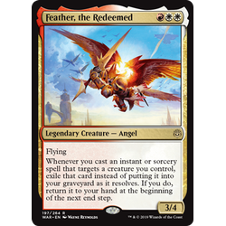 Magic löskort: War of the Spark: Feather, the Redeemed