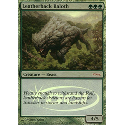 Magic löskort: Gateway Promo: Leatherback Baloth (Foil)