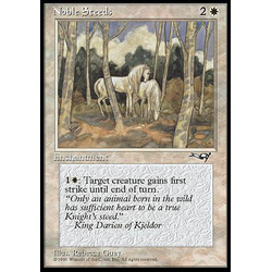 Magic löskort: Alliances: Noble Steeds v.2
