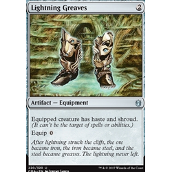 Magic löskort: Commander Anthology: Ligntning Greaves
