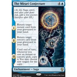 Magic löskort: Dominaria: The Mirari Conjecture