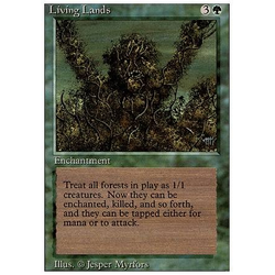 Magic löskort: Revised: Living Lands