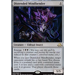 Magic löskort: Eldritch Moon: Distended Mindbender (Foil)
