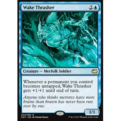 Magic löskort: Duel Decks: Merfolk vs. Goblins: Wake Thrasher