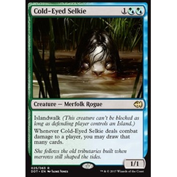 Magic löskort: Duel Decks: Merfolk vs. Goblins: Cold-Eyed Selkie