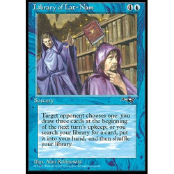 Magic löskort: Alliances: Library of Lat-Nam