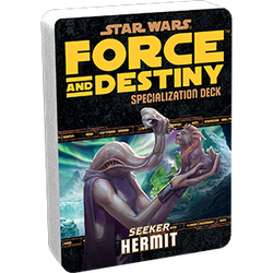 Star Wars: Force and Destiny: Specialization Deck Seeker Hermit