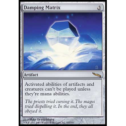 Magic löskort: Mirrodin: Damping Matrix