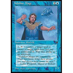 Magic löskort: Fallen Empires: Vodalian Mage v.1