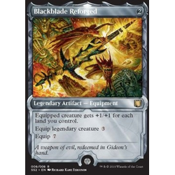 Magic löskort: Signature Spellbook: Gideon: Blackblade Reforged