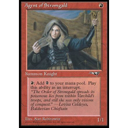 Magic löskort: Alliances: Agent of Stromgald v.1
