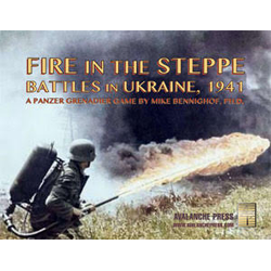 Panzer Grenadier: Fire in the Steppe