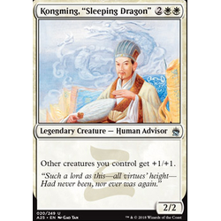 Magic löskort: Masters 25: Kongming, Sleeping Dragon