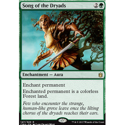 Magic löskort: Commander Anthology: Song of the Dryads