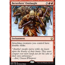 Magic löskort: Dragons of Tarkir: Berserkers' Onslaught