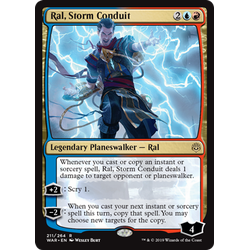 Magic löskort: War of the Spark: Ral, Storm Conduit