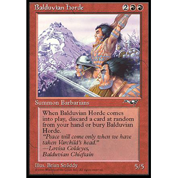 Magic löskort: Alliances: Balduvian Horde