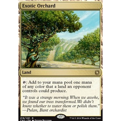 Magic löskort: Conspiracy: Take the Crown: Exotic Orchard