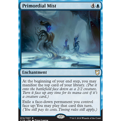 Magic löskort: Commander 2018: Primordial Mist