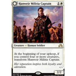 Magic löskort: Shadows over Innistrad: Hanweir Militia Captain