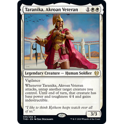 Magic löskort: Theros: Beyond Death: Taranika, Akroan Veteran