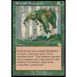 Magic löskort: Prophecy: Elephant Resurgence