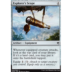 Magic löskort: Zendikar vs Eldrazi: Explorer's Scope