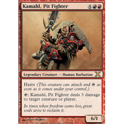 Magic löskort: 10th Edition: Kamahl, Pit Fighter