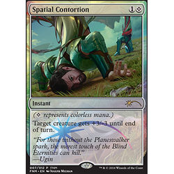 Magic löskort: FNM Promo: Spatial Contortion (Foil)