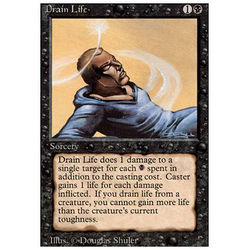 Magic löskort: Revised: Drain Life