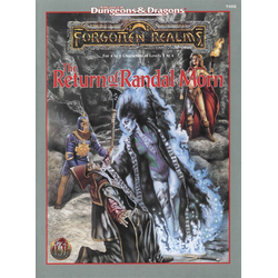 ADD 2nd ed: Forgotten Realms - The Return of Randal Morn