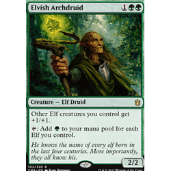 Magic löskort: Commander Anthology: Elvish Archdruid