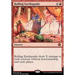 Magic löskort: Annihilation: Rolling Earthquake
