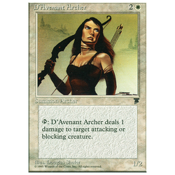 Magic löskort: Chronicles: D'Avenant Archer
