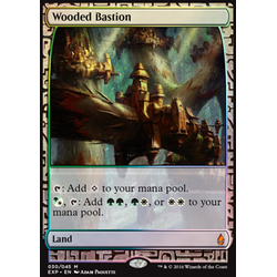 Magic löskort: Expeditions: Wooded Bastion