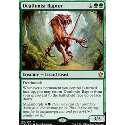 Magic löskort: Dragons of Tarkir: Deathmist Raptor