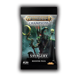 Warhammer Age of Sigmar: Champions - Wave 3 Savagery Booster Pack