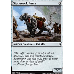 Magic löskort: Zendikar vs Eldrazi: Stonework Puma