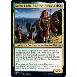 Magic löskort: Theros: Beyond Death: Siona, Captain of the Pyleas