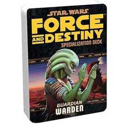 Star Wars: Force and Destiny: Specialization Deck Warden