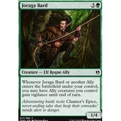Magic löskort: Zendikar vs Eldrazi: Joraga Bard