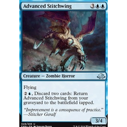 Magic löskort: Eldritch Moon: Advanced Stitchwing