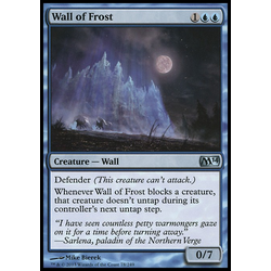 Magic löskort: Magic 2014: Wall of Frost