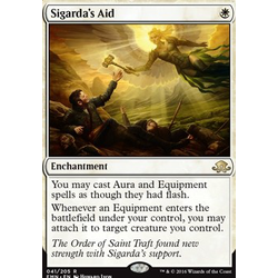 Magic löskort: Eldritch Moon: Sigarda's Aid (Foil)