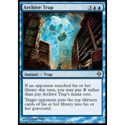 Magic löskort: Zendikar: Archive Trap