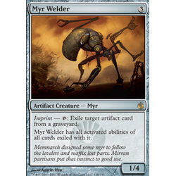 Magic löskort: Mirrodin Besieged: Myr Welder