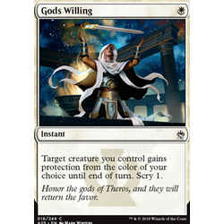 Magic löskort: Masters 25: Gods Willing