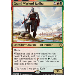 Magic löskort: Dominaria: Grand Warlord Radha