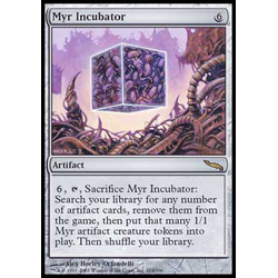 Magic löskort: Mirrodin: Myr Incubator