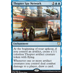 Magic löskort: Commander 2018: Thopter Spy Network